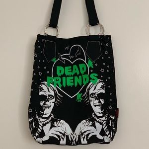 adc074292aad Hell Bunny Zombie Dead Friends Tote Bag
